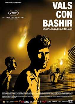 """¡CONFIRMADA! """"Vals con Bashir"""" estará en el IX Ciclo """"Refugiados en el Cine"""""""