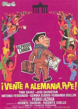 """¡CONFIRMADA! """"Vente a Alemania, Pepe"""" estará en el IX Ciclo """"Refugiados en el Cine"""""""