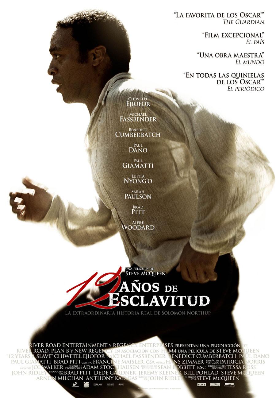 """CONFIRMADA: """"12 años de esclavitud"""", de Steve McQueen, en Refugiados en el Cine (Murcia, 19-VI y Madrid, 20-VI)"""