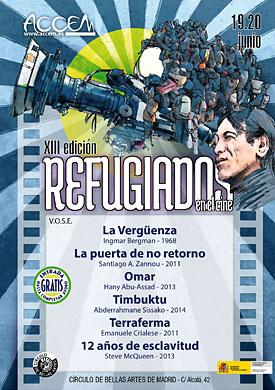 Madrid: XIII Ciclo Refugiados en el Cine (19 y 20 de junio de 2015)