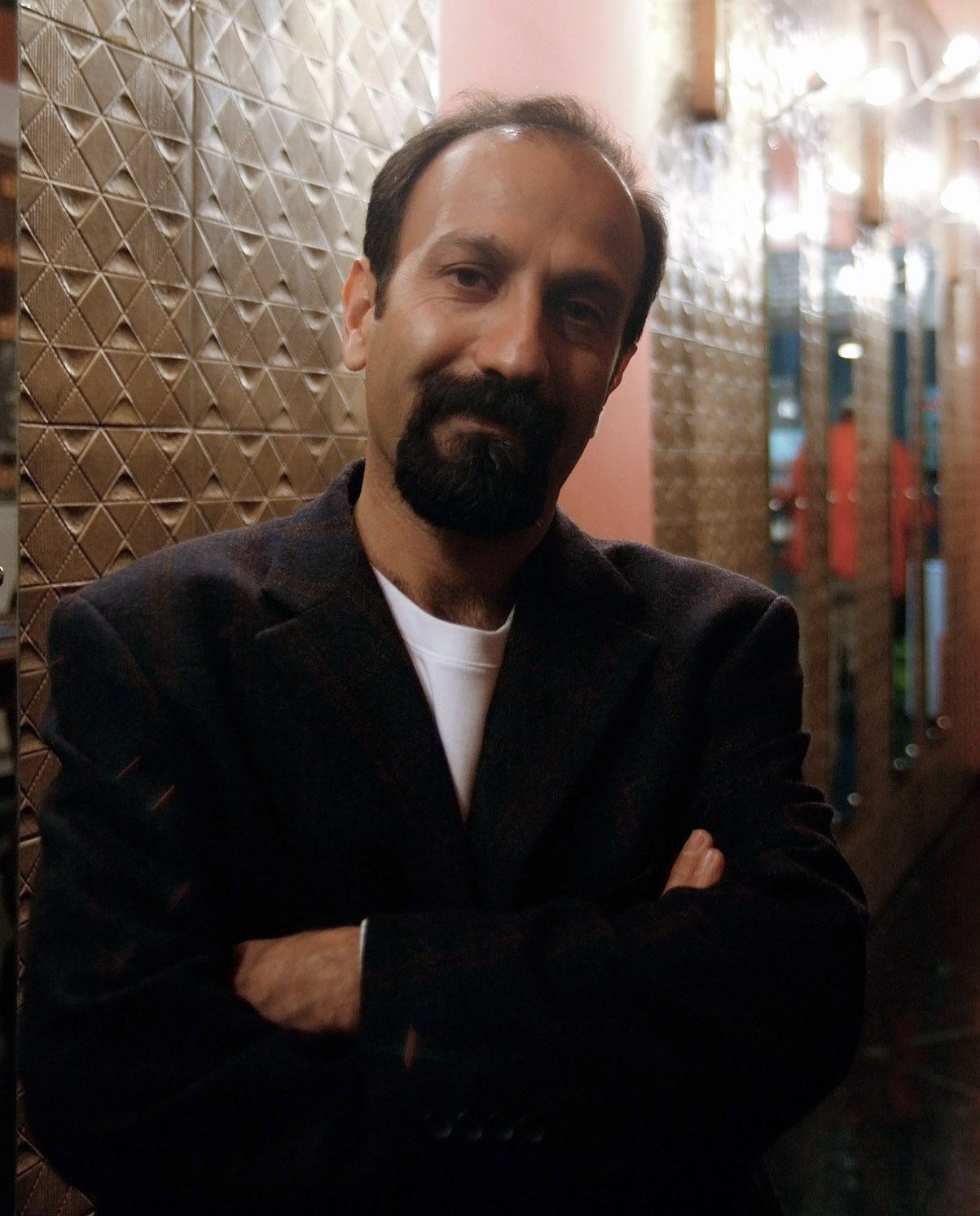 Asghar Farhadi at Statdkino Wien during Viennale 2009