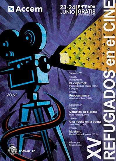 XV Ciclo Refugiados en el Cine (23 y 24 de junio)