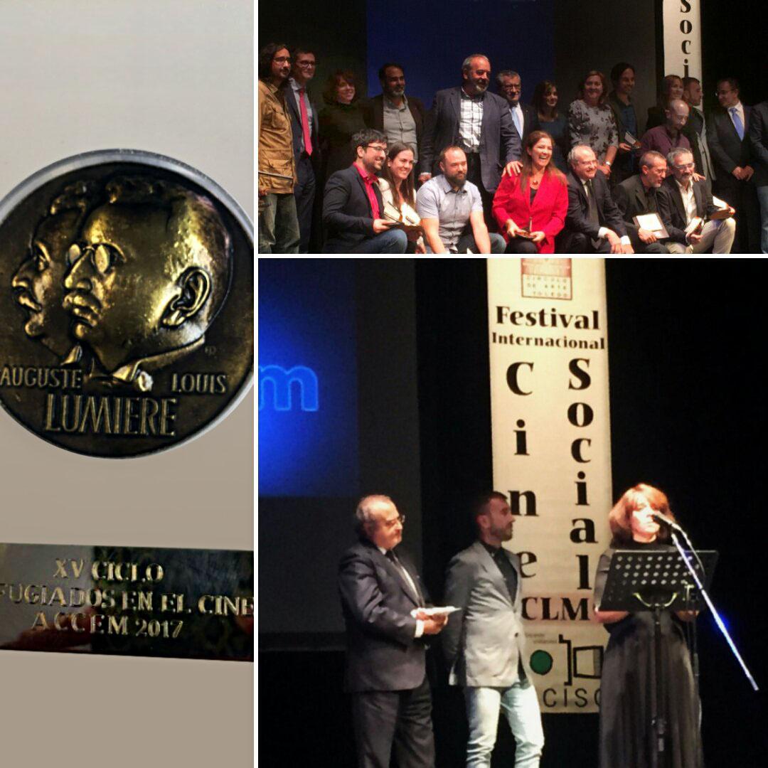 Accem y Refugiados en el Cine, premiados con la Medalla Lumière